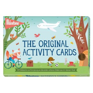 The Original Activity Cards von Milestone - deutsche Version
