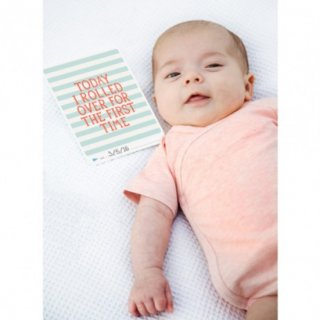 Baby Photocards von Milestone - Cotton Candy  - deutsche Version