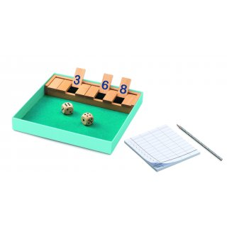 Spieleklassiker Shut the box