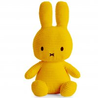 Miffy Sitting Corduroy Yellow - 33 cm