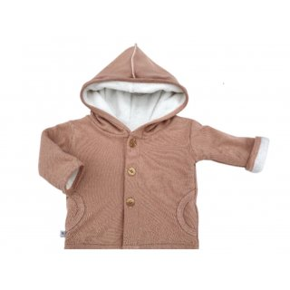BB. Hooded Cardigan 151 old pink 18 Monate+