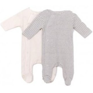Play Up Pack 2 Rib Jumpsuit col P0049E 100% Organic Cotton