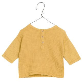 Play Up Mixed Shirt yellow 100% Cotton