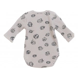 Play Up Printed Ribbed Rib Bodysuit col E279G Gr.12M