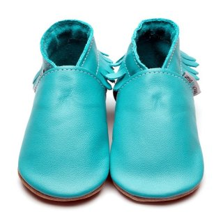 Inch Blue Patschen Moccasin Turquoise Gr.CXL