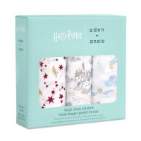 aden + anais Large Musy Squares 70x70 Harry Potter
