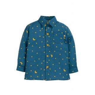 Frugi North Star Shirt Moonlight 7-8Y