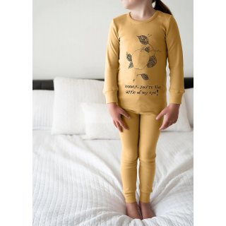Lovedbaby Pyjama Set Organic Cotton honey apple