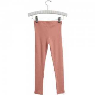 Wheat Rib Leggings soft peach rose 128