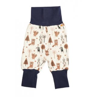 Cheeky Apple Babypumphose Paper Gang/Bündchen Navy