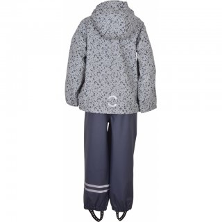 Mikk-line Set Regenjacke mit Regenhose Blue Nights 128