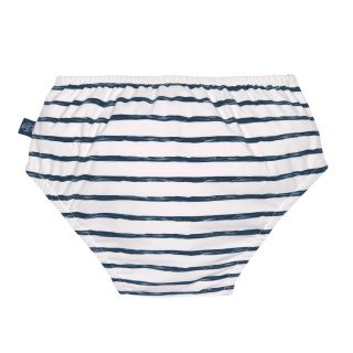 LSF Swim Diaper boys Stripes navy 12M