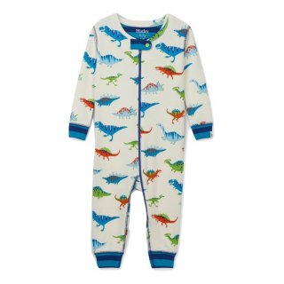 HTLY Dino Herd Cotton Coverall 6-9M