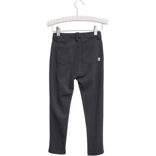 WHEAT Slim Trousers Aska midnight blue melange