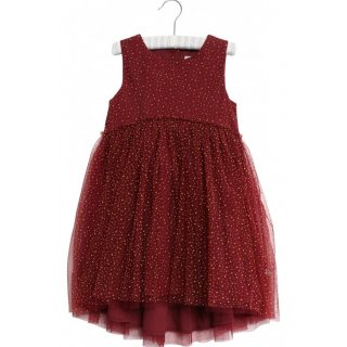 Wheat Vilna Dress burgundy 98