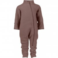 Mikk-line Wool Baby Suit Marron