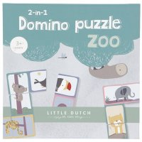 2in1 Domino Puzzle Zoo