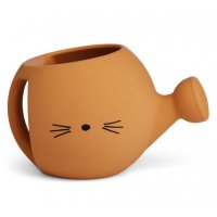 Lyon Watering Can Cat mustard