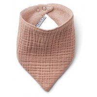 Bib Organic Cotton 2-Pack rose