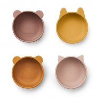 Silicone Bowls Iggy 4-Pack rose mix