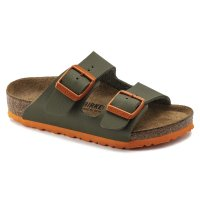 Birkenstock Arizona Kids Desert Soil Moss Green / Orange