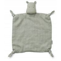 Cuddle Cloth Hippo dove blue