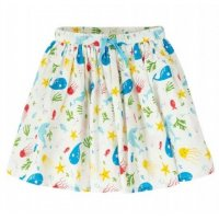 Frugi Fiona Full Skirt Splashing About