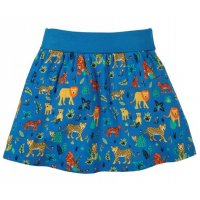 Frugi Luna Skirt Colbalt Big Cats