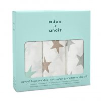 aden + anais Milky Way 3-Pack Silky Soft Swaddles